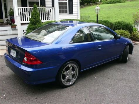 Purchase Used Blue 2004 Honda Civic Ex Coupe 2-door 1.7l