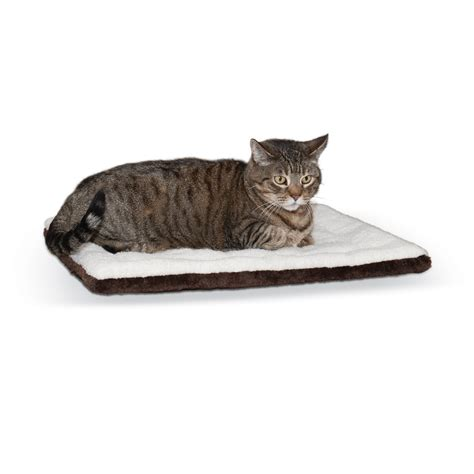 k h oatmeal and chocolate self warming pet pad petco