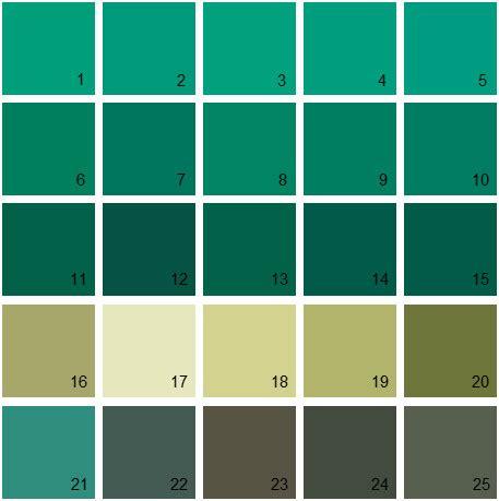 benjamin moore paint colors green palette 25 house