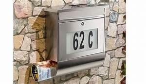 Hausnummer Mit Beleuchtung : test rund ums haus lunartec edelstahl briefkasten mit hausnummer und beleuchtung ~ Eleganceandgraceweddings.com Haus und Dekorationen