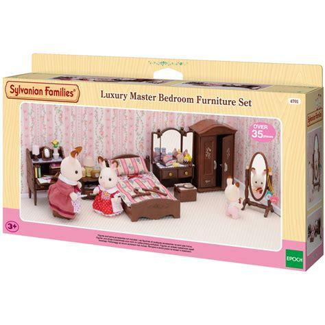 sylvanian families master bedroom sylvanian families luxury master bedroom furniture set new 17450 | sylvanian families lux master bedroom pk