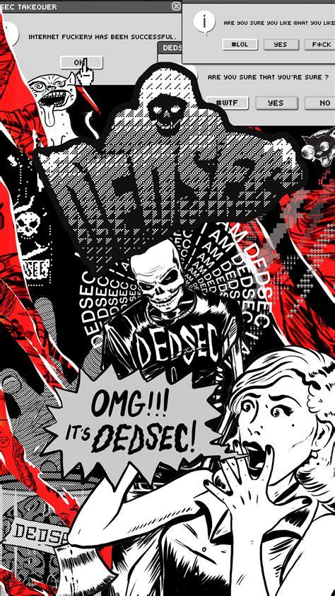 Dedsec wallpaper jokes aside fo… dedsec wallpaper dogs fox logo … Dedsec phone wallpaper