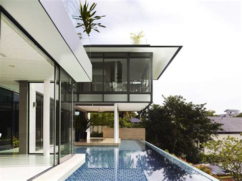 Relaxing Zen House Promoting Social Interaction In