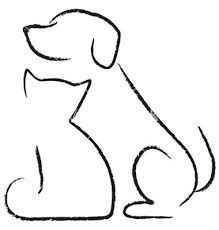 """Schat (or simplechat or simplechat.support) is an open source and very basic live chat app written by a javascript/meteor developer. Résultat de recherche d'images pour """"dessin chat""""   Cat and dog drawing, Drawings, Dog drawing"""