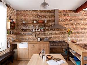 kitchens with open shelving ideas 50 trendy and timeless kitchens with beautiful brick walls