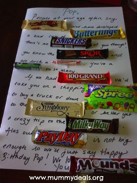 5 out of 5 stars. Candy Bar birthday card   Candy Bar Cards   Pinterest