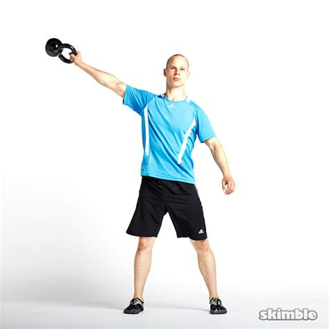 kettlebell lateral swings right workout exercise exercises skimble step muscle kettlebells obliques strength categories lower glute trainer