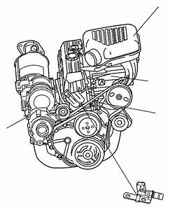 Jeep Wrangler Engine Camshaft Position Sensor  Repair
