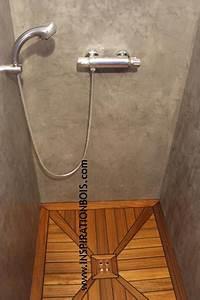 Fabriquer un receveur de douche en teck ciabizcom for Escalier exterieur en beton 10 prix de pose dun receveur de douche