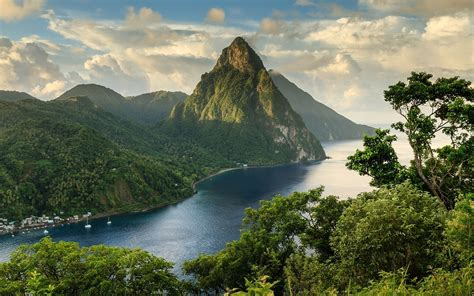 awesome st lucia wallpaper hd wallpapers