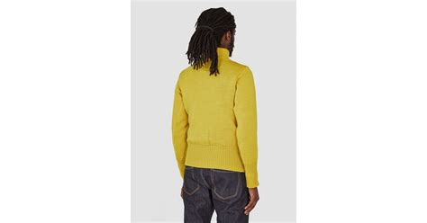 North Sea Clothing The Diver Yellow In Yellow For Men