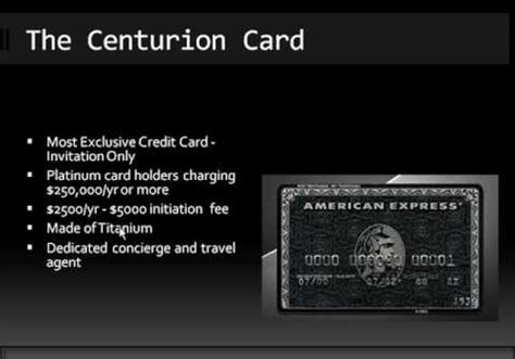 American Express Black Card Archives