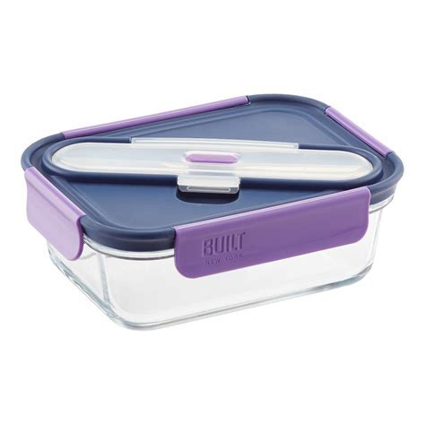 Gourmet Bento Glass Container   The Container Store
