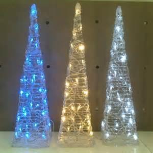 modern christmas decorations santa claus and christmas