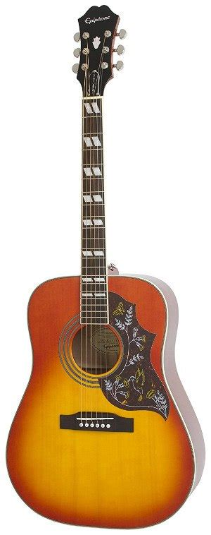 Harga Gitar Epiphone Dove Pro epiphone hummingbird dove pro acoustic electric guitar