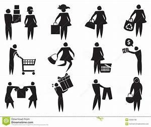 Consumer Shopping Icons – free icons