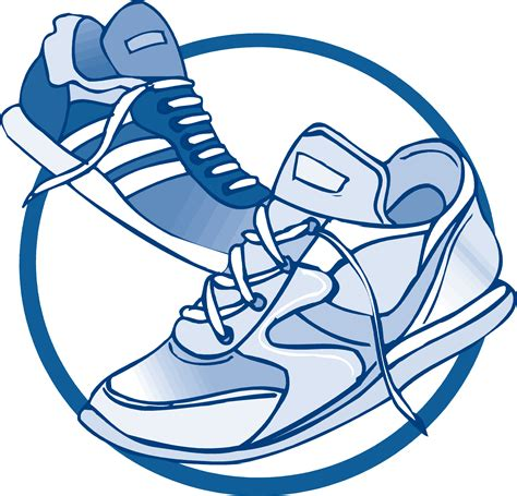 Free sneaker clipart - Clipart Collection | Walking tennis ...