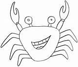 Crab Coloring Pages Printable Sea Animal Hermit Fargelegge Tegninger Animals Krabbe Colouring Sheets Fish Fastseoguru Total Views Getcoloringpages Getcolorings 2324 sketch template