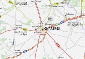 Michelin Karten Frankreich : karte stadtplan chartres viamichelin ~ Jslefanu.com Haus und Dekorationen