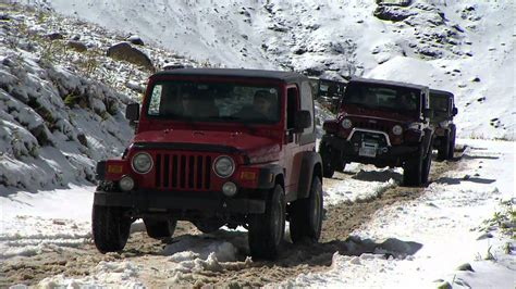 Jeep Jamboree In Ouray, Colorado Hd Video