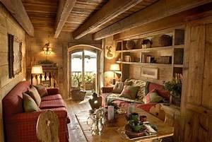 Casa In Montagna  Elegante Stile Rustico