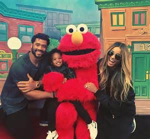Ciara and Future Son Russell Wilson