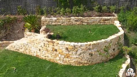 Steine Für Mauer Im Garten by Steine Im Garten