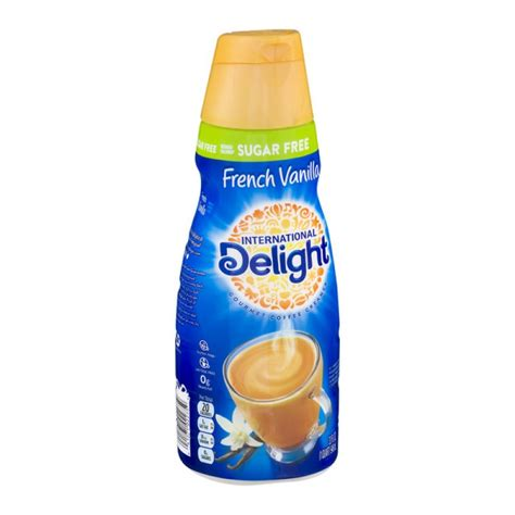 But international delight is one of the event. International Delight Gourmet Coffee Creamer Sugar Free French Vanilla - 32.0 FL OZ PrestoFresh ...