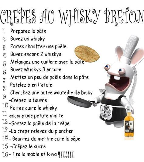 recette de cuisine humoristique recette de la crêpe au whisky la bretonne