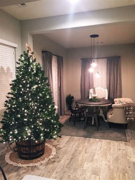 wine barrel christmas tree tree in a wine barrel future home