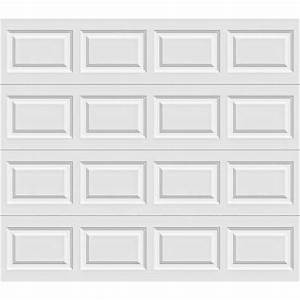 Clopay premium series 8 ft x 7 ft 184 r value for 9x7 insulated garage door