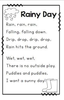 poems  weather  seasons   ps style tpt