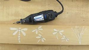 Wood Carving Made Easy With A Dremel PDF Woodworking