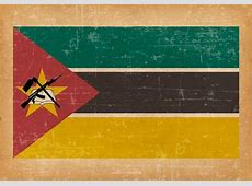 Mozambique Grunge Flag Download Free Vector Art, Stock