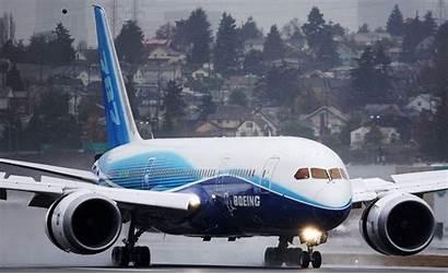 Boeing 787 Dreamliner B787 Wallpapers Taxiing Wet