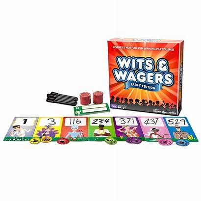 Wagers Wits Party Edition Board Games Gamesmen