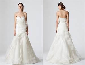 simple white strapless vera wang wedding dress with With vera wang strapless wedding dress