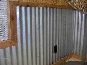 corrugatedmetalwallpanels corrugated metal for With metal garage interior wall ideas
