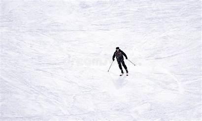 Skier Length Downhill Snow Skiing Powder Slope