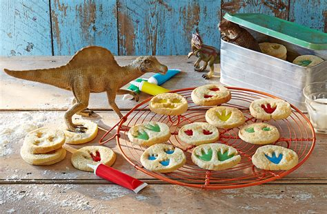 and easy canapes dinosaur biscuits tesco food