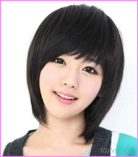 short haircut  face asian star styles stylesstar