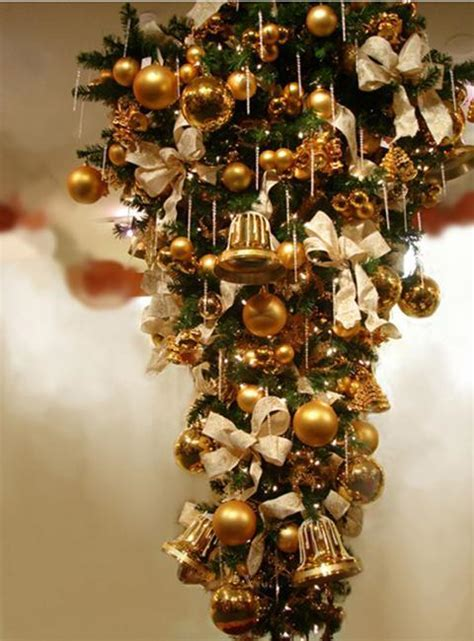 hanging upside  christmas trees reinventing space saving medieval christmas decorating tradition