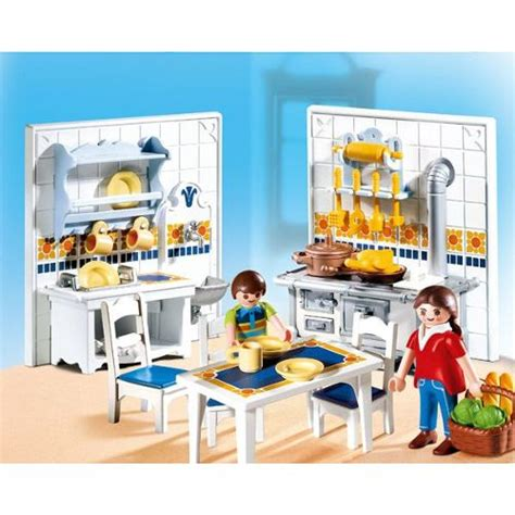 buffet cuisine occasion playmobil 5317 famille et cuisine traditionnelle neuf et