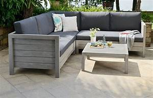 Garden Sofa Set - Wooden - Home Furniture - Out & Out Original