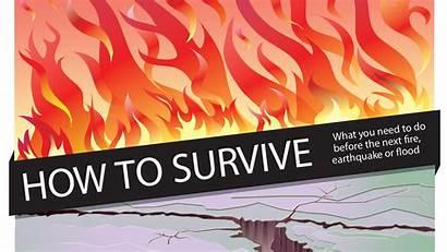 Guide Survival Fire Earthquake Preparing Disaster Surviving