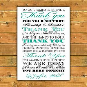 printable thank you wedding sign With downloadable wedding signs