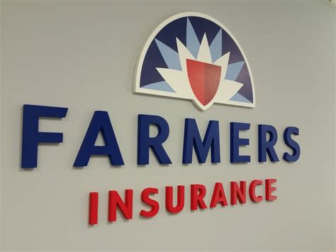 farmers insurance exterior signs  indoor graphics