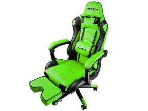 raidmax drakon  green gaming chair bermor techzone