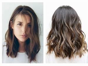 Coiffure Femme Mi Long : coiffure mi long tendance coupe cheveux court femme ~ Melissatoandfro.com Idées de Décoration