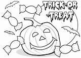 Halloween Coloring Happy sketch template